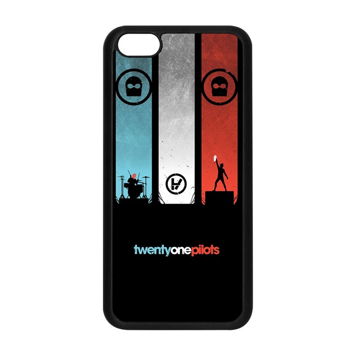 Twenty One 21 Pilots Apple iPhone 5C Seamless Case (Black)