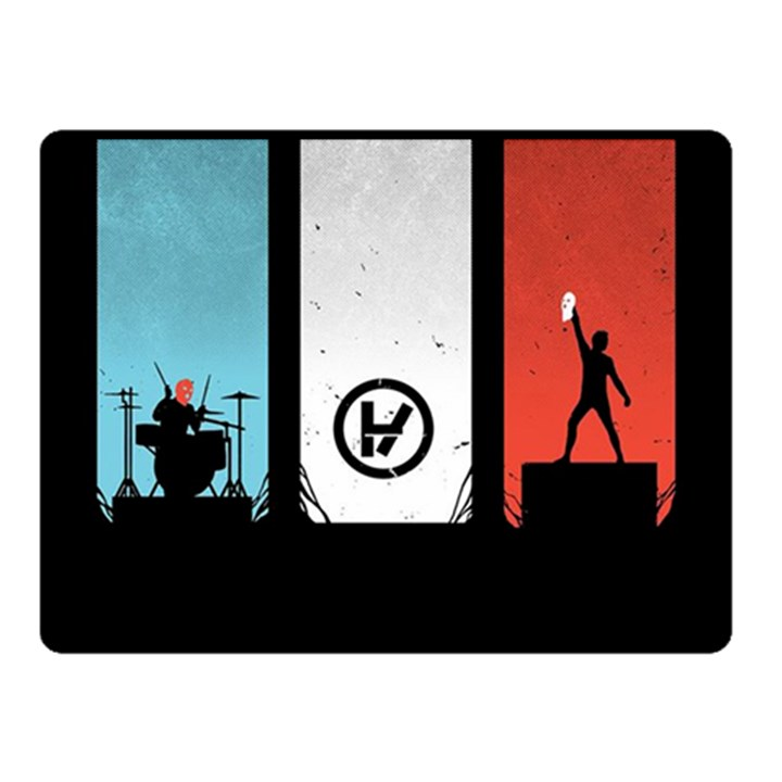 Twenty One 21 Pilots Double Sided Fleece Blanket (Small)