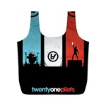 Twenty One 21 Pilots Full Print Recycle Bags (M)  Front