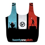 Twenty One 21 Pilots Full Print Recycle Bags (L)  Front