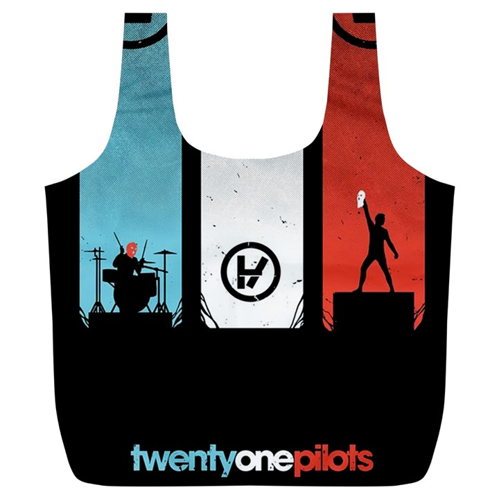Twenty One 21 Pilots Full Print Recycle Bags (L)