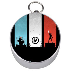 Twenty One 21 Pilots Silver Compasses