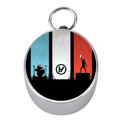 Twenty One 21 Pilots Mini Silver Compasses