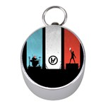 Twenty One 21 Pilots Mini Silver Compasses Front