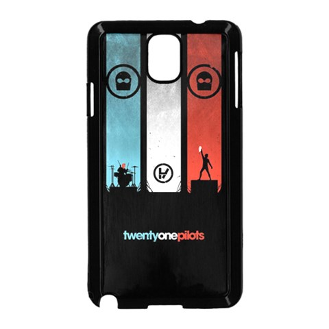 Twenty One 21 Pilots Samsung Galaxy Note 3 Neo Hardshell Case (Black)