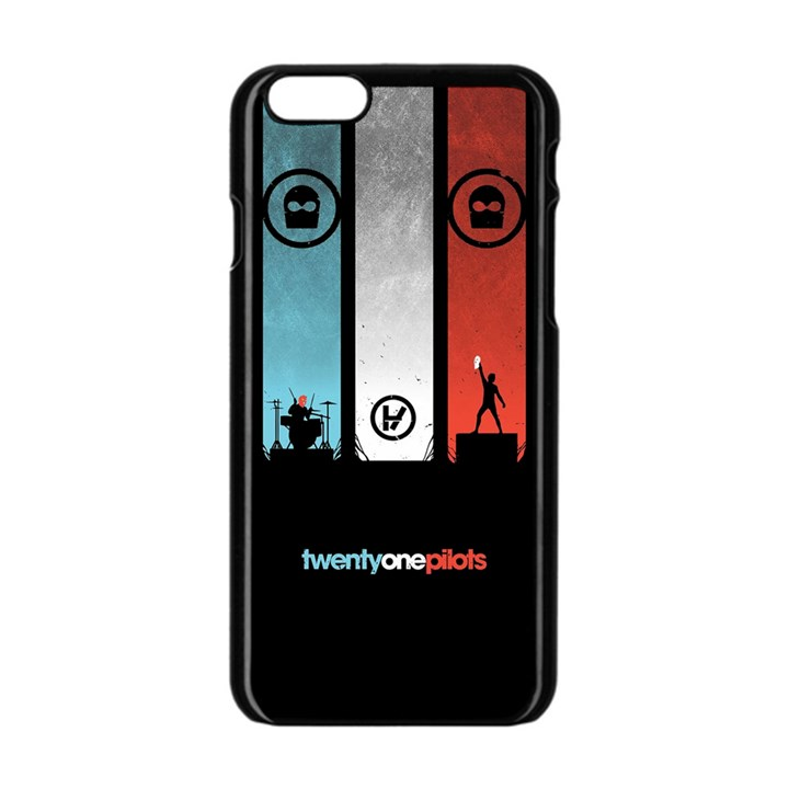 Twenty One 21 Pilots Apple iPhone 6/6S Black Enamel Case