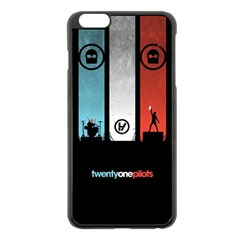 Twenty One 21 Pilots Apple iPhone 6 Plus/6S Plus Black Enamel Case