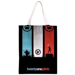 Twenty One 21 Pilots Classic Light Tote Bag