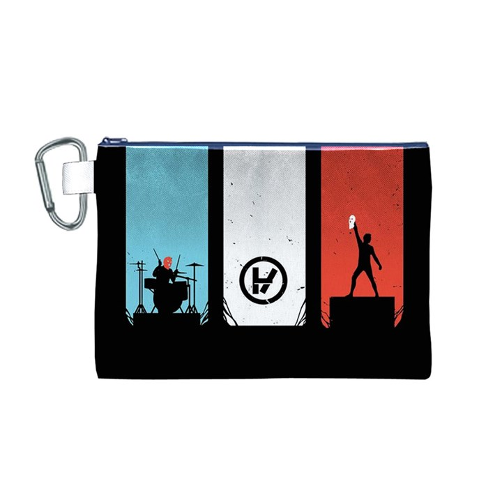 Twenty One 21 Pilots Canvas Cosmetic Bag (M)