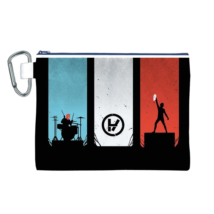 Twenty One 21 Pilots Canvas Cosmetic Bag (L)