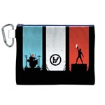 Twenty One 21 Pilots Canvas Cosmetic Bag (XL) Front