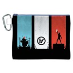 Twenty One 21 Pilots Canvas Cosmetic Bag (XXL) Front