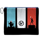 Twenty One 21 Pilots Canvas Cosmetic Bag (XXXL) Front
