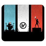 Twenty One 21 Pilots Double Sided Flano Blanket (Small)  50 x40 Blanket Front