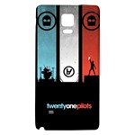 Twenty One 21 Pilots Galaxy Note 4 Back Case Front