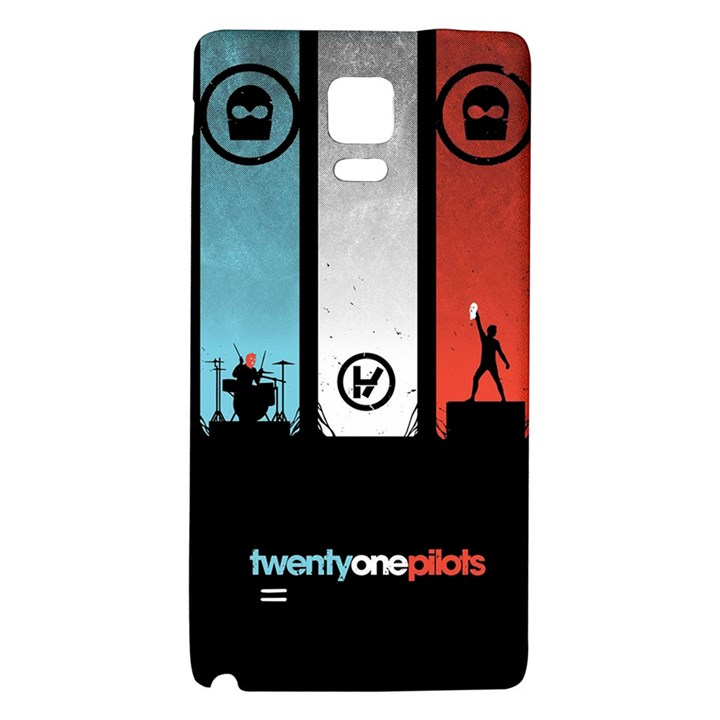 Twenty One 21 Pilots Galaxy Note 4 Back Case