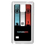 Twenty One 21 Pilots Samsung Galaxy Note 4 Case (White) Front