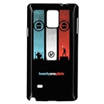 Twenty One 21 Pilots Samsung Galaxy Note 4 Case (Black) Front