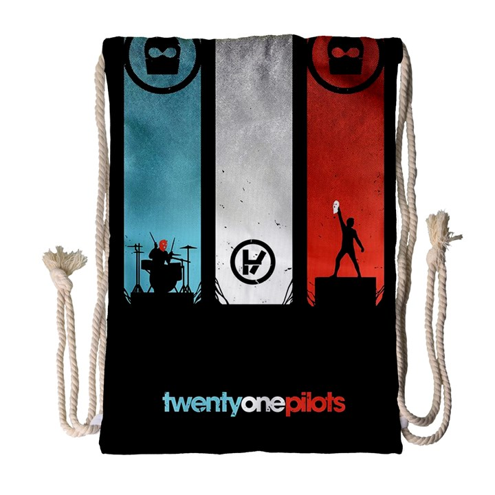 Twenty One 21 Pilots Drawstring Bag (Large)