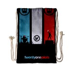 Twenty One 21 Pilots Drawstring Bag (Small) Back