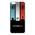 Twenty One 21 Pilots Apple Seamless iPhone 6 Plus/6S Plus Case (Transparent) Front