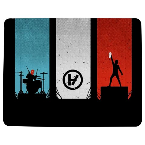 Twenty One 21 Pilots Jigsaw Puzzle Photo Stand (Rectangular)