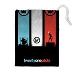 Twenty One 21 Pilots Drawstring Pouches (Extra Large) Front