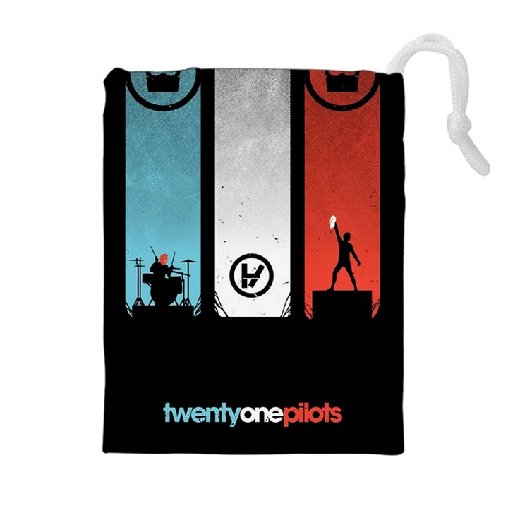 Twenty One 21 Pilots Drawstring Pouches (Extra Large)