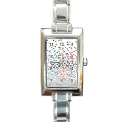 Twenty One Pilots Birds Rectangle Italian Charm Watch