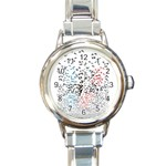 Twenty One Pilots Birds Round Italian Charm Watch Front