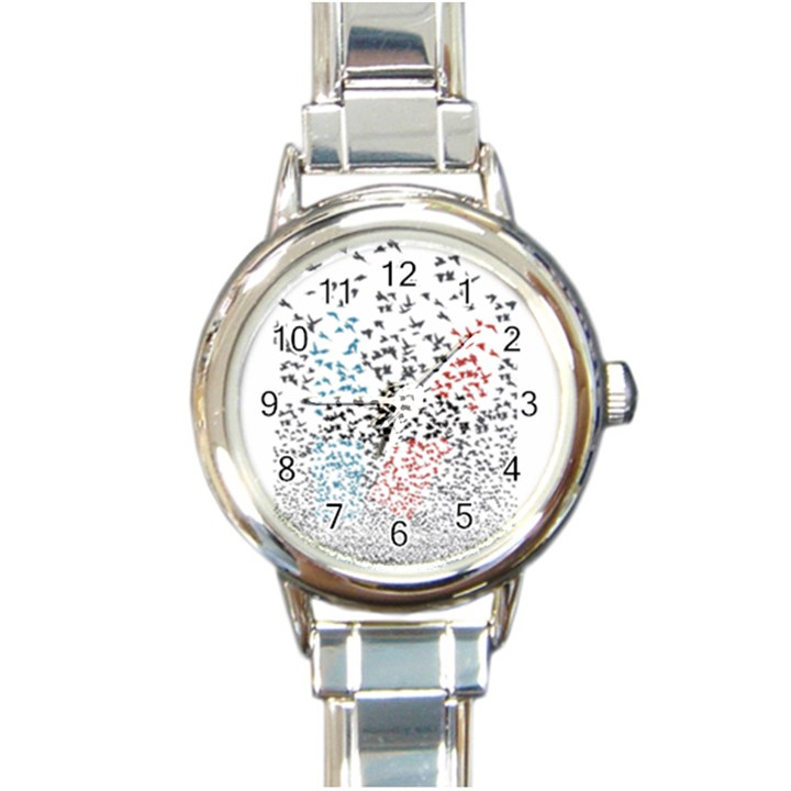 Twenty One Pilots Birds Round Italian Charm Watch