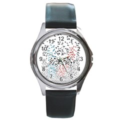 Twenty One Pilots Birds Round Metal Watch