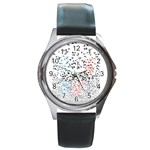 Twenty One Pilots Birds Round Metal Watch Front