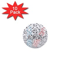Twenty One Pilots Birds 1  Mini Buttons (10 pack)
