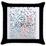 Twenty One Pilots Birds Throw Pillow Case (Black) Front