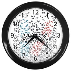 Twenty One Pilots Birds Wall Clocks (black)