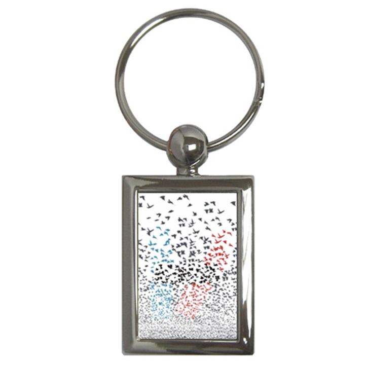 Twenty One Pilots Birds Key Chains (Rectangle)