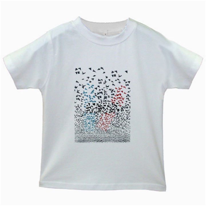 Twenty One Pilots Birds Kids White T-Shirts