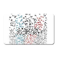 Twenty One Pilots Birds Magnet (Rectangular)