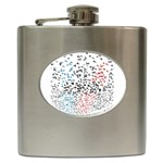 Twenty One Pilots Birds Hip Flask (6 oz) Front