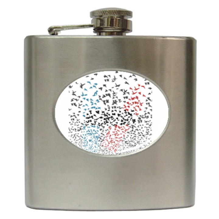 Twenty One Pilots Birds Hip Flask (6 oz)