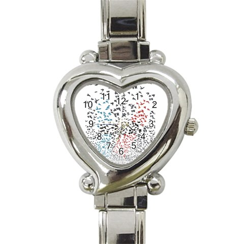 Twenty One Pilots Birds Heart Italian Charm Watch