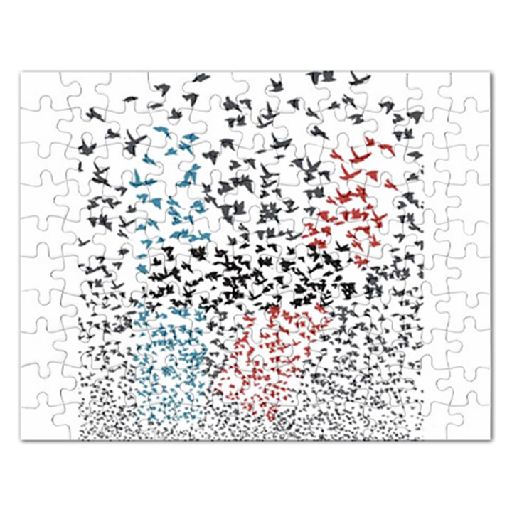 Twenty One Pilots Birds Rectangular Jigsaw Puzzl
