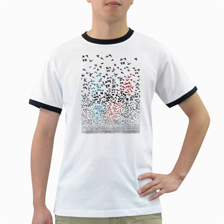Twenty One Pilots Birds Ringer T-Shirts