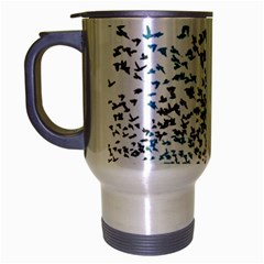 Twenty One Pilots Birds Travel Mug (Silver Gray)