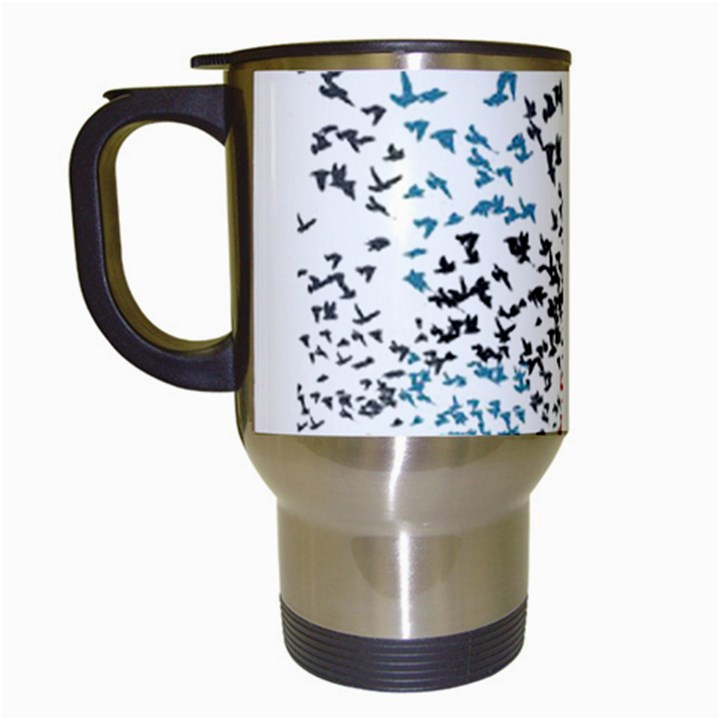 Twenty One Pilots Birds Travel Mugs (White)