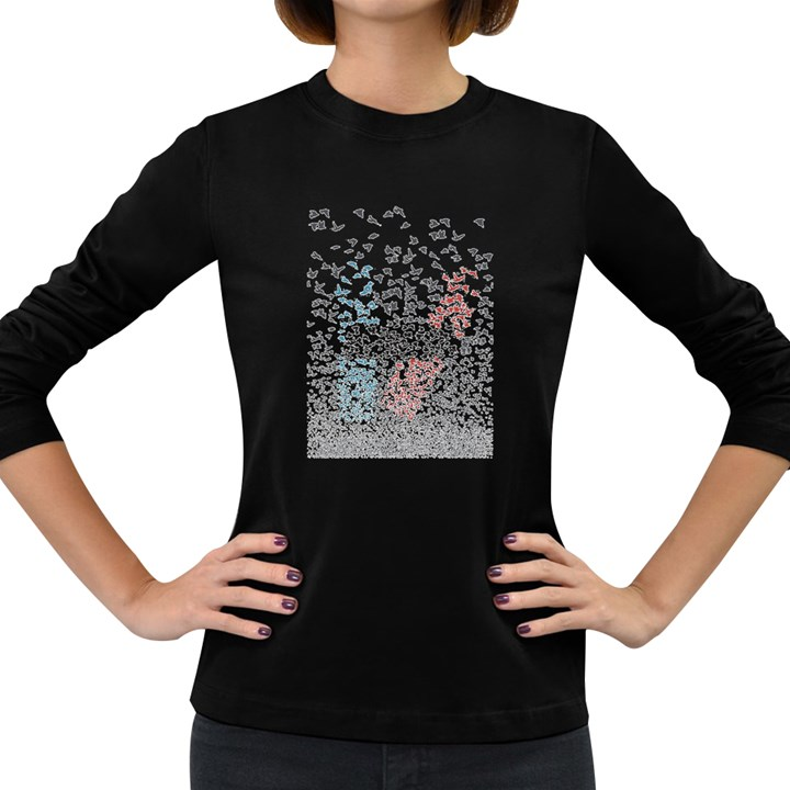 Twenty One Pilots Birds Women s Long Sleeve Dark T-Shirts