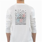 Twenty One Pilots Birds White Long Sleeve T-Shirts Back
