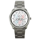 Twenty One Pilots Birds Sport Metal Watch Front