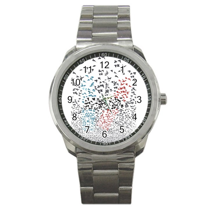 Twenty One Pilots Birds Sport Metal Watch
